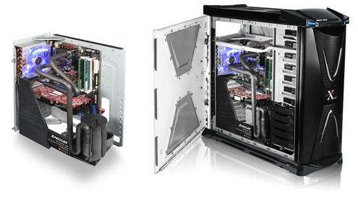 Серийный корпус ThermalTake Xpressar с фреоновым охлаждением
